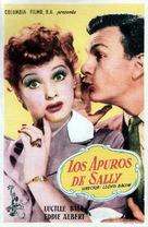 The Fuller Brush Girl - Spanish Movie Poster (xs thumbnail)