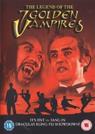 The Legend of the 7 Golden Vampires - British DVD movie cover (xs thumbnail)