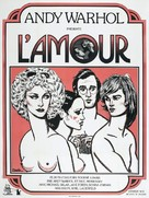 L'Amour - French Movie Poster (xs thumbnail)