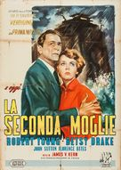 The Second Woman - Italian Movie Poster (xs thumbnail)