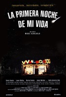 Primera noche de mi vida, La - Spanish Movie Poster (xs thumbnail)