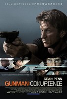 The Gunman - Polish Movie Poster (xs thumbnail)