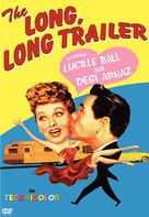 The Long, Long Trailer - DVD cover (xs thumbnail)