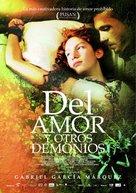 Del amor y otros demonios - Costa Rican Movie Poster (xs thumbnail)