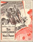 Ten Gentlemen from West Point - poster (xs thumbnail)