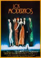 The Moderns - Spanish Movie Poster (xs thumbnail)