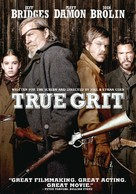 True Grit - DVD movie cover (xs thumbnail)