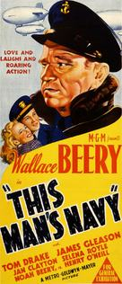 This Man's Navy - Australian Movie Poster (xs thumbnail)