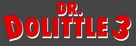 Dr Dolittle 3 - German Logo (xs thumbnail)
