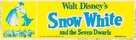 Snow White and the Seven Dwarfs - Re-release movie poster (xs thumbnail)