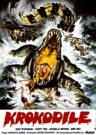 Crocodile - German Movie Poster (xs thumbnail)