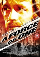 A Force of One - British Movie Cover (xs thumbnail)