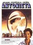 Antonieta - French Movie Poster (xs thumbnail)