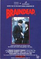 Braindead - British Movie Poster (xs thumbnail)