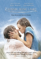 The Notebook - Czech DVD cover (xs thumbnail)