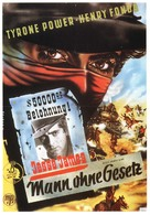 Jesse James - German Movie Poster (xs thumbnail)