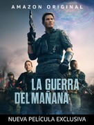 The Tomorrow War - Mexican Video on demand movie cover (xs thumbnail)