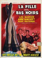 The Girl in Black Stockings - Belgian Movie Poster (xs thumbnail)
