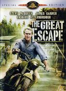 The Great Escape - British DVD movie cover (xs thumbnail)