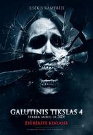 The Final Destination - Lithuanian Movie Poster (xs thumbnail)