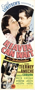 Heaven Can Wait - Movie Poster (xs thumbnail)