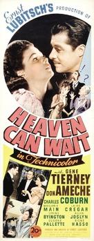 Heaven Can Wait - Movie Poster (xs thumbnail)