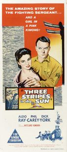 Three Stripes in the Sun - Australian Movie Poster (xs thumbnail)