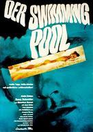 La piscine - German Movie Poster (xs thumbnail)