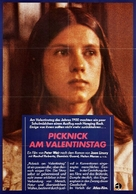 Picnic at Hanging Rock - German Movie Poster (xs thumbnail)
