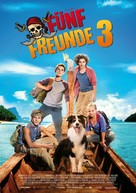 Fünf Freunde 3 - German Movie Poster (xs thumbnail)