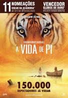 Life of Pi - Portuguese Movie Poster (xs thumbnail)
