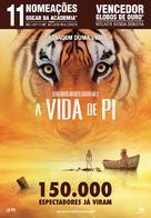 Life of Pi - Portuguese Movie Poster (xs thumbnail)