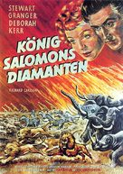 King Solomon's Mines - German Movie Poster (xs thumbnail)