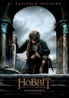 The Hobbit: The Battle of the Five Armies - Spanish Movie Poster (xs thumbnail)