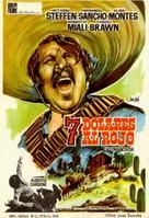 Sette dollari sul rosso - Spanish Movie Poster (xs thumbnail)