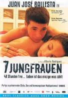7 vírgenes - German DVD cover (xs thumbnail)