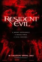 Resident Evil - Advance movie poster (xs thumbnail)