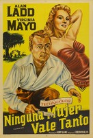 The Iron Mistress - Argentinian Movie Poster (xs thumbnail)