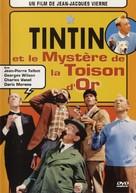 Tintin et le mystère de la toison d'or - French DVD cover (xs thumbnail)