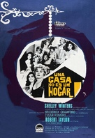 A House Is Not a Home - Spanish Movie Poster (xs thumbnail)