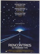 Close Encounters of the Third Kind - French Movie Poster (xs thumbnail)