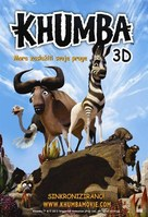 Khumba - Croatian Movie Poster (xs thumbnail)