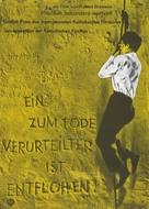 Un condamné à mort s'est échappé ou Le vent souffle où il veut - German Movie Poster (xs thumbnail)
