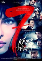 Saat Khoon Maaf - Indian Movie Poster (xs thumbnail)