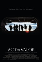 Act of Valor - Danish Movie Poster (xs thumbnail)