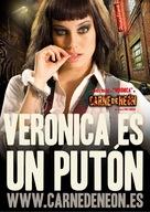 Carne de neón - Spanish Movie Poster (xs thumbnail)
