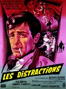 Distractions, Les - French Movie Poster (xs thumbnail)