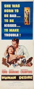 Human Desire - Movie Poster (xs thumbnail)