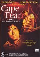 Cape Fear - Australian DVD movie cover (xs thumbnail)