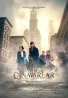 Fantastic Beasts and Where to Find Them - Turkish Movie Poster (xs thumbnail)